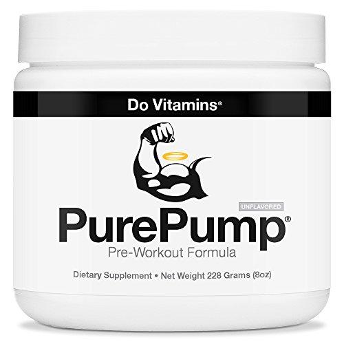 PurePump Supplement Pre Workout Supplements Certified