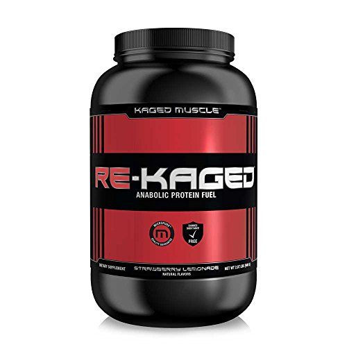 Kaged Muscle RE KAGED Glutamine Strawberry
