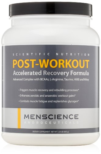 MenScience Androceuticals Post Workout Accelerated Recovery