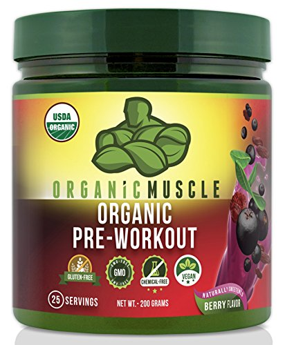 USDA Certified Organic Pre Workout Supplement