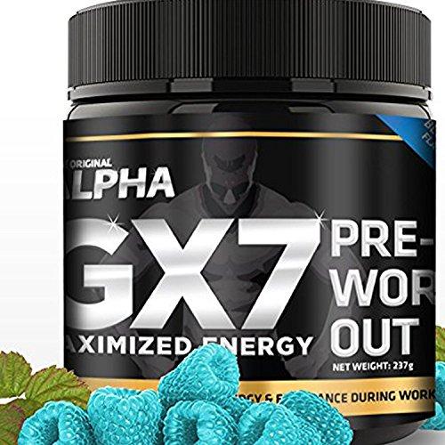 Original Alpha Pre Workout Raspberry Grams