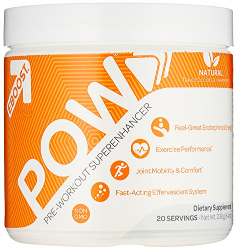 EBOOST POW Pre Workout Fast Acting Performance