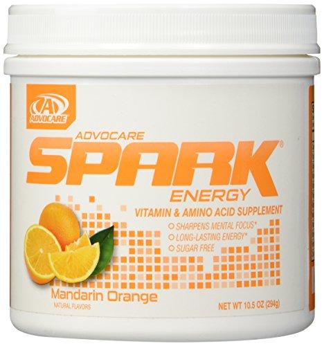 AdvoCare Mandarin Orange Spark Canister