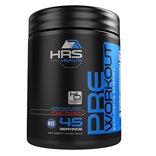 HRS Health Pre Workout Powder