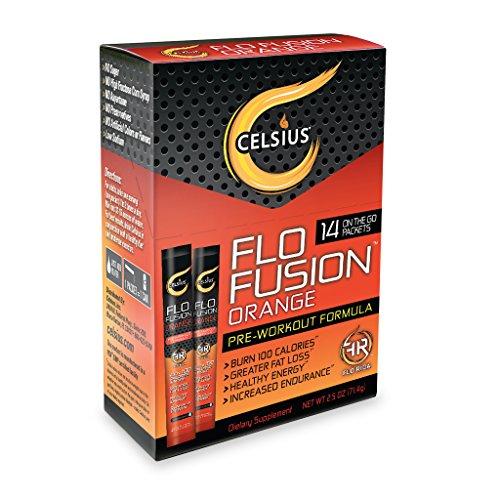 Celsius Fusion Orange Packets 14 Counts