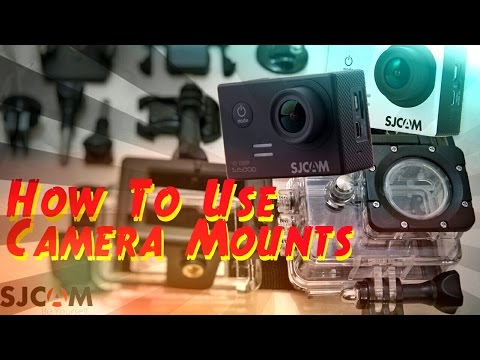 How to Use Gopro/Sjcam/Yi Action Sports Camera Accessories