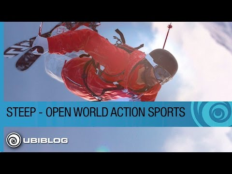Steep – How an Open World Changes Action Sports