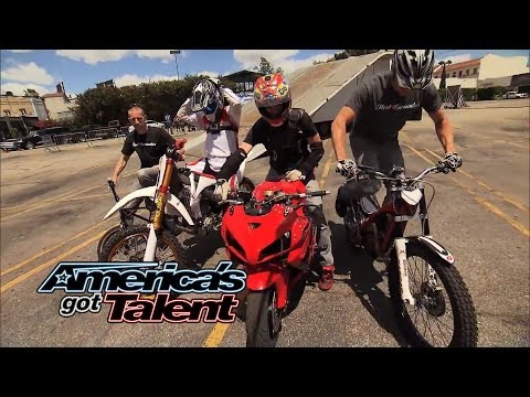 Real Encounter: Action Sports Team Pulls off Insane Stunts – America's Got Talent 2014