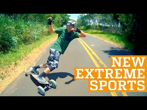 TOP THREE NEW EXTREME SPORTS – Freeline Skates, 2Wheel & Carveboard | PEOPLE ARE AWESOME