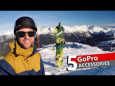 Top 5 GoPro Accessories for Action Sports