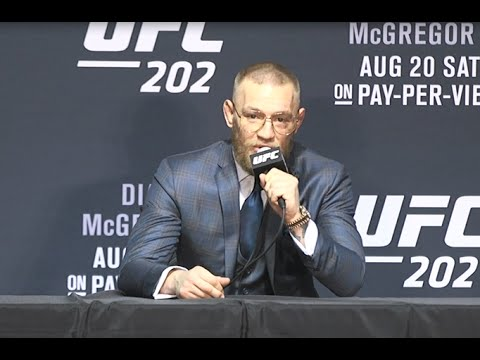 UFC 202: Conor McGregor Post-fight Press Conference