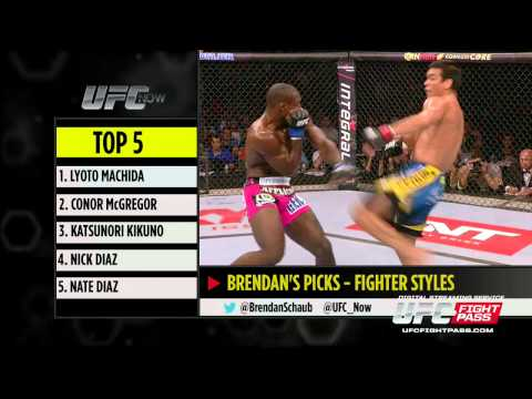 UFC Now Ep. 213: Top 5 Fighting Styles