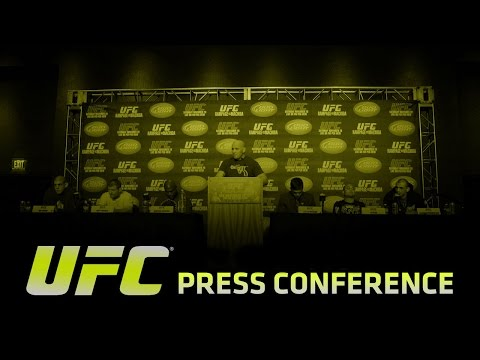 UFC 189 and The Ultimate Fighter Finale: Press Conference