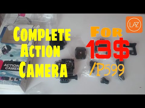 A7 Action Sports Camera Unboxing + Camera Test Lazada