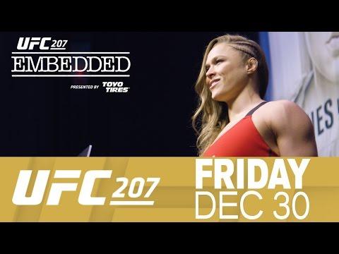 UFC 207 Embedded: Vlog Series – Episode 6