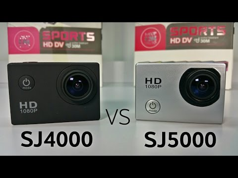 Sports DV SJ5000 14MP/1080P vs SJ4000 – $90 – Action Camera – Unboxing & Review!