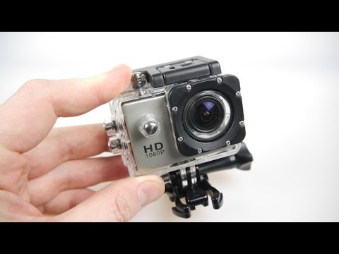 SJ4000 HD Action Camera Review – All the mounts – half the price
