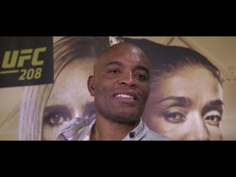 """Anderson Silva se emociona com vitória no UFC 208: """"Isso é o meu ar"""""""