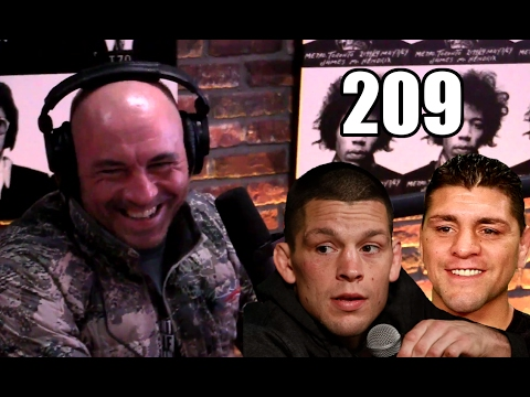 Joe Rogan pissed that Nick & Nate Diaz not fighting at UFC 209