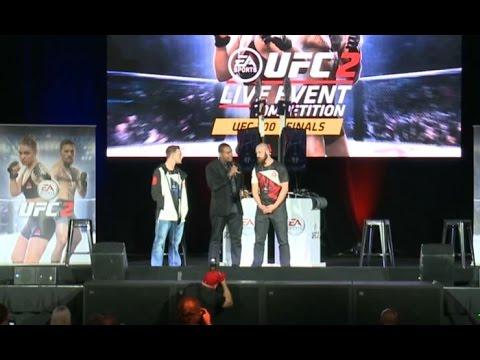 UFC Fan Expo: EA SPORTS UFC 2 Live Event Competition Finals