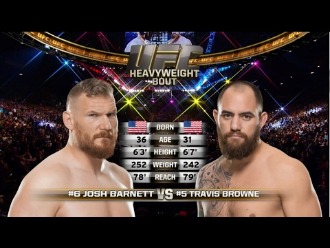 Fight Night Halifax Free Fight: Travis Browne vs Josh Barnett