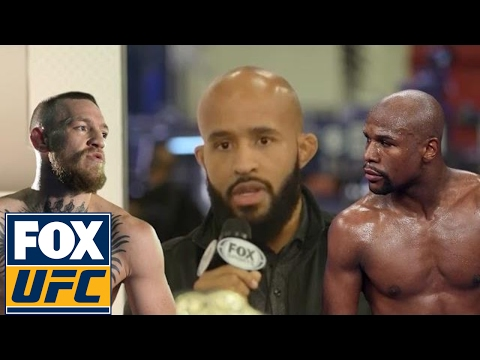 Demetrius Johnson doesn't want to see McGregor fight Mayweather | @TheBuzzer | UFC ON FOX