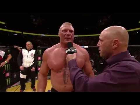UFC 200: Brock Lesnar – Octagon Interview
