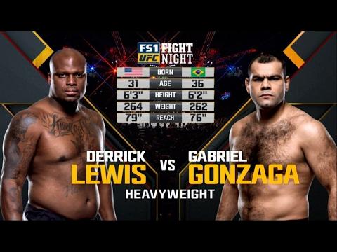 Fight Night Halifax Free Fight: Derrick Lewis vs Gabriel Gonzaga