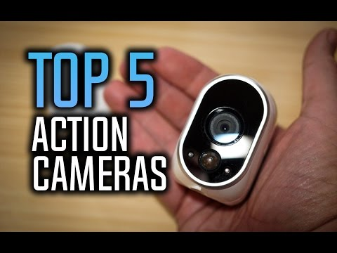 Best Action Cameras – Top 5 Sports Cameras in 2017!