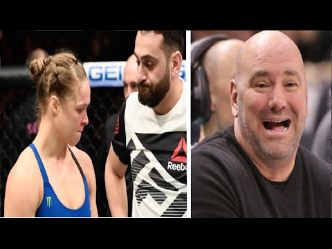 Dana White – Ronda Rousey is Done she's Not Fighting Again  Probably.