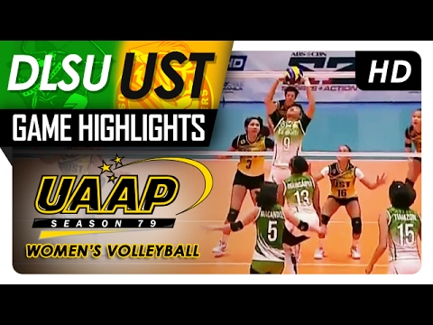 DLSU vs UST | Game Highlights | UAAP 79 WV | February 11, 2017