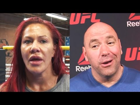 Cris Cyborg: Dana White said I'm Fighting Cat Zingano at UFC 214; Conor McGregor Gets New Rolex's