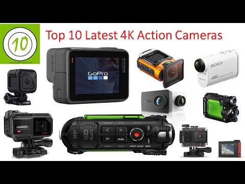 Top 10 Latest 4K Action Cameras For 2017 I Best 4k Sports Camera I