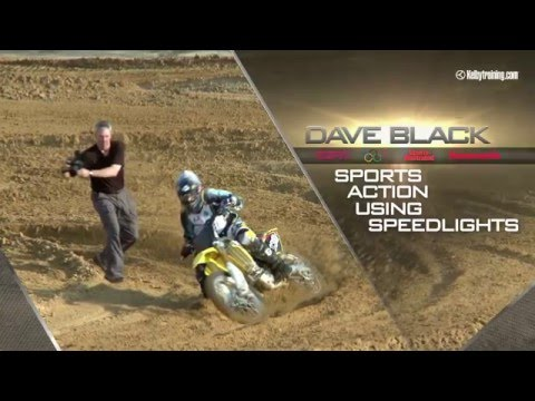 Action Sports Flash Photography with Dave Black Trailer
