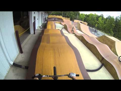 First hand view of the Daniel Dhers Action Sports Complex!