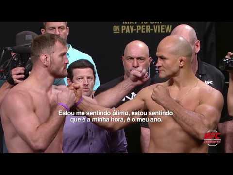 UFC 211: Melhores momentos da pesagem