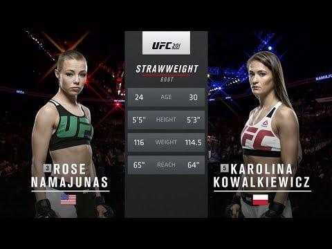 UFC 212 Free Fight: Karolina Kowalkiewicz vs Rose Namajunas