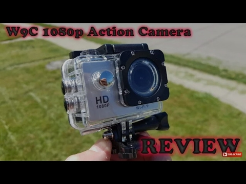 Budget action cam (Artek W9C Full HD Wifi action sports camera) unboxing!!