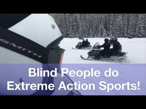 How Blind People do Action Sports!