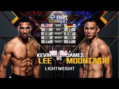Fight Night Oklahoma City Free Fight: Kevin Lee vs James Moontasri