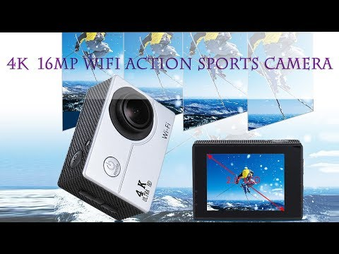 2″ LCD V3 4K 30fps 16MP WiFi Action Sports Camera