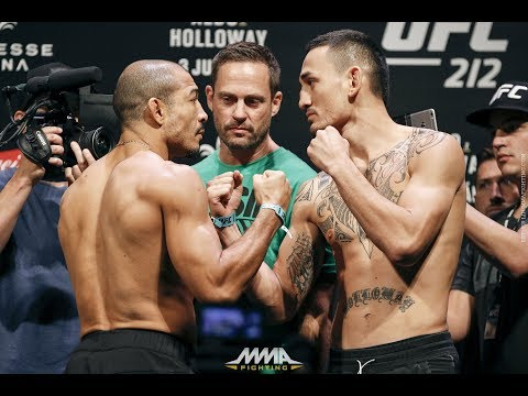 UFC 212: Jose Aldo vs. Max Holloway Weigh-In Staredown – MMA Fighting