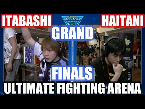 ITABASHI vs HAITANI | GRAND FINALS | SFV Ultimate Fighting Arena (Zangief vs Necalli)