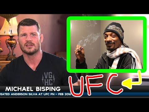 Michael Bisping about Snoop Dogg Being Hired By The UFC as Commentator!