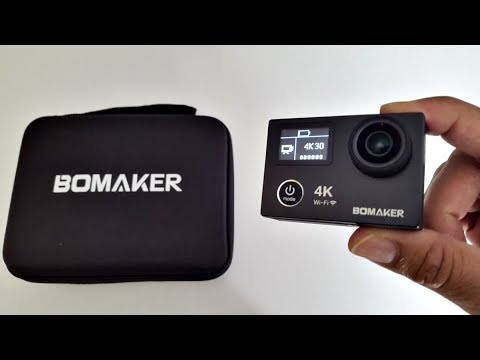 2017 BEST 4K UHD Dual Screen Action Sports Camera – BOMAKER