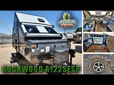 New Extreme Sport Pop Up Camper 2018 ROCKWOOD A122SESP Hard Sided RV Trailer Colorado