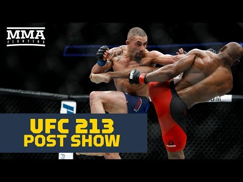 UFC 213 Post-Fight Show – MMA Fighting