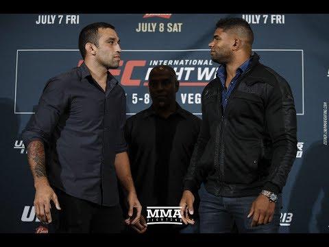 UFC 213: Fabricio Werdum vs. Alistair Overeem Staredown – MMA Fighting