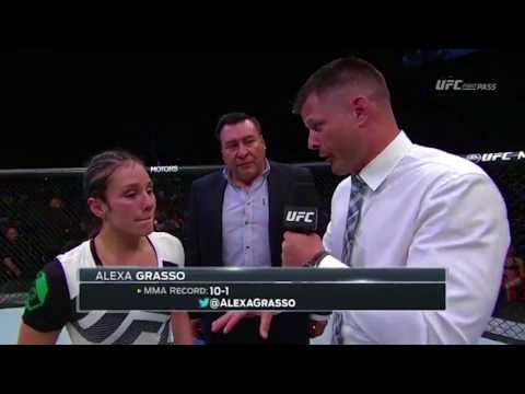 Fight Night Mexico City: Alexa Grasso Octagon Interview