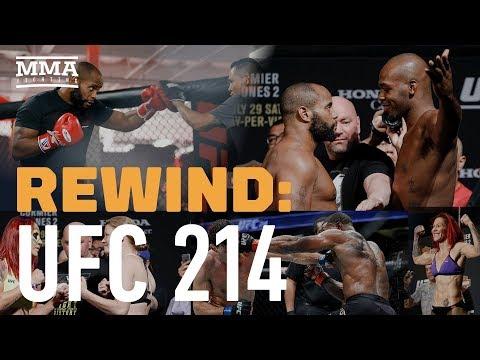 UFC 214 Rewind: Jon Jones Knocks Out Daniel Cormier – MMA Fighting